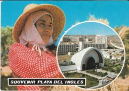 España--Gran Canarias-Playa Del Ingles-a, Steendory, Belgica - Costumi