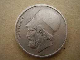 GREECE 1976  20 DRACHMA COIN  ´PERIKLIS´´ USED In FAIR CONDITION. - Greece