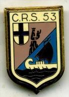 Insigne CRS 53 - Insignes & Rubans