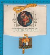 Calendrier 1930  ( Souhait Des Fètes ) Religion  2 Scan - Calendriers