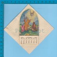 Calendrier 1949 ( Souhait Des Fètes ) Religion  2 Scan - Calendriers