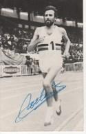 Autographe de Gaston Roelants