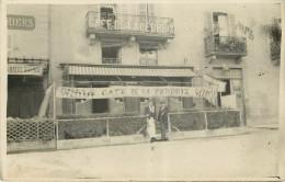 Vezelise : Café De La Perdrix - Carte Photo - Vezelise