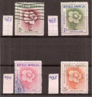 Rep. Dominicana       Y /T   467 / 468  +  494 / 495       (0) - Dominicaine (République)