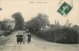Levis (89) Entrée Du Pays - Francia