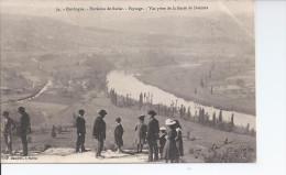 Dordogne Environs De Sarlat Paysage Vue Prise De La Barre De Domme - France