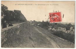 92 - MEUDON-BELLEVUE - Vue Panoramique Prise De La Terrasse - Fleury FF 24 - Meudon