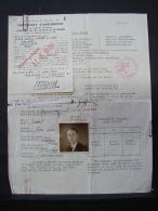 DH. 7. Permis International De Conduire Provisoirement à Druart Jean-Louis Ellignies-St-Anne Touring Club 1947 - Documentos Históricos