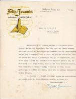 MULHOUSE  --  FOLTZ - JEANNIN  --  MANYFOLDS  --  1931 - Frankreich