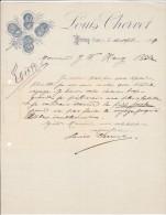 PRAZ  ( VAILLY )   --  LOUIS CHERVET  --  1899 - Frankreich