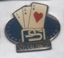Jeu , Cartes , Nace '90 , PSI - Jeux