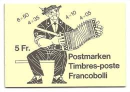 Schweiz, 1984, Markenheftchen 0-78, Postfrisch**, Vollständig Mit Allen Marken - Blocchi