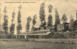45 Chatillon Coligny. Le Pont Du Tramway - Chatillon Coligny