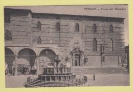 PERUGIA --> Piaza Del Municipio - Perugia