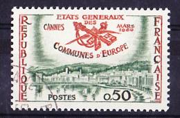 Frankreich France  Gemeinden/communities/communautés 1960 Gest. Used Obl. - Europäischer Gedanke