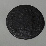 1657 - France - LIARD, LOUIS XIV Au Buste Juvénile, (B), Acquigny, étoile Après France, Gad 80 - 987-1789 Geld Van Koningen