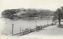 Monté-Carlo - Vue Sur Les Terrasses Et Monaco - Monte-Carlo