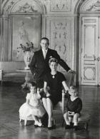 Monaco - La Famille Princière - Le Prince Rainier III, Grace, Albert, Caroline - Monaco