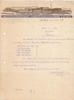 AKTIENGESELLSCHAFT VERBLENDSTEINFABRIK LAUSEN  --  1927 - Schweiz