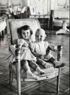 Monaco - La Famille Princière - Le Prince Albert Et La Princesse Caroline En 1959 - Familles Royales