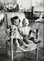 Monaco - La Famille Princière - Le Prince Albert Et La Princesse Caroline En 1959 - Königshäuser