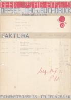 GEBR. LIPS A. G. , BASEL  --  OFFSET - LITHO U. BUCHDRUCK  --  1933 - Schweiz