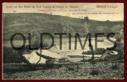 TOMAR - AÇUDE NO RIO NABAO DA REAL FABRICA DE THOMAR - 1905 PC - Santarem