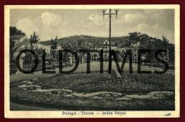 TOMAR - UM ASPECTO DO JARDIM DO PARQUE - 1910 PC - Santarem