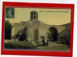 - ARLES -  Les Aliscamps, Chapelle Saint Honorat - Carte Toilée - Arles