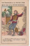 CHROMO Publicité A LA RUCHE D´OR  -  - Au Dos Chaussures - Bonneterie - Lingerie - Confection - Au Bon Marché