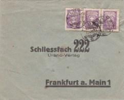 MEMEL - 1929 - ENVELOPPE De SILUTE (HEYDEKRUG) Pour FRANKFURT - Lithuania