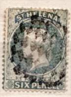 St. Helena Used Stamp - Saint Helena Island