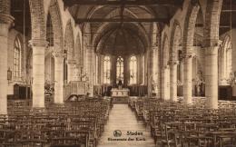 BELGIQUE - FLANDRE OCCIDENTALE - STADEN - Binnenste Der Kerk. - Staden