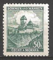 1939 50h Castle, Mint Hinged - Unused Stamps