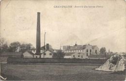 GRANDGLISE  : Sucrerie Duchateau Frères - RARE CPA - Cachet De La Poste 1911 - Léger Pli Coin Supérieur Gauche - Beloeil