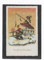 EVA SCHMIDT-LABOE     -  VIEL GLÜCK IM NEUEN JAHR    ~ 1950    (4) - Illustrateurs & Photographes
