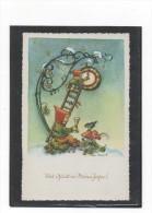 EVA SCHMIDT-LABOE     -  VIEL GLÜCK IM NEUEN JAHR    ~ 1950    (1) - Illustrateurs & Photographes