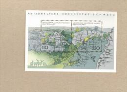 BRD 1998 Nationalpark Sächsische Schweiz  Block Mi.Nr.44, 5 Stück ** MNH - BRD