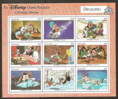 O) 1987 GRANADA-GRENADA, PINOCCHIO-CARTOON, MNH - Stamps