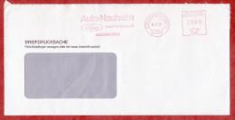 Briefdrucksache, Absenderfreistempel, Auto-Nauheim Ford, 80 Pfg, Eschborn 1991 (50305) - Storia Postale