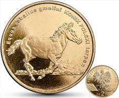 "POLAND  2 Zlotes 2014 2.014  ""Horse Konik""  Nordic Gold   UNCirculated   T-DL-10.828 - Poland"