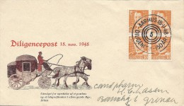 Mail Coach 150 Years   Denmark.   S - 891 - Post