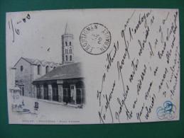 CPA Précurseur 1 TP Type Sage - Millau (12) - Notre Dame , Place D'Armes 1900 - Millau