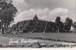 P3136 Tjandi Borobudur Indonesia Front/back Image - Indonesien