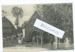 CPA - Lisbourg - Le Moulin Et Sa Chute D'eau - Francia