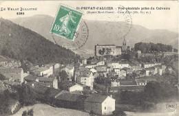 ST PRIVAT D'ALLIER              Vue Générale Prise Du Calvaire - Other Municipalities