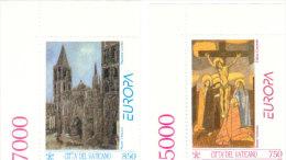EUROPA VATICANO 1993 - INTEGRI - Unused Stamps