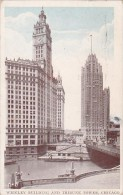Wrigley Building And Tribune Tower Chicago Illinois 1936 - Chicago