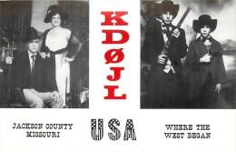Missouri - Kansas City - CP Radio Décorée **Jackson Country**  - Voir 2 Scans - Kansas City – Missouri