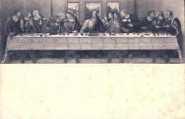 Gemaldesammlung STRASBURG  Copie De La Cene De Léonardo  Da Vinci TB - Malerei & Gemälde